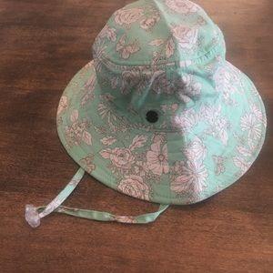 Millymook Toddler Floral Beach Bucket Sun Hat 2-5